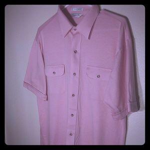 Christian Dior Pink Button Down Shirt